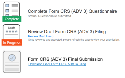 Form CRS ADV Part 3 compliance software
