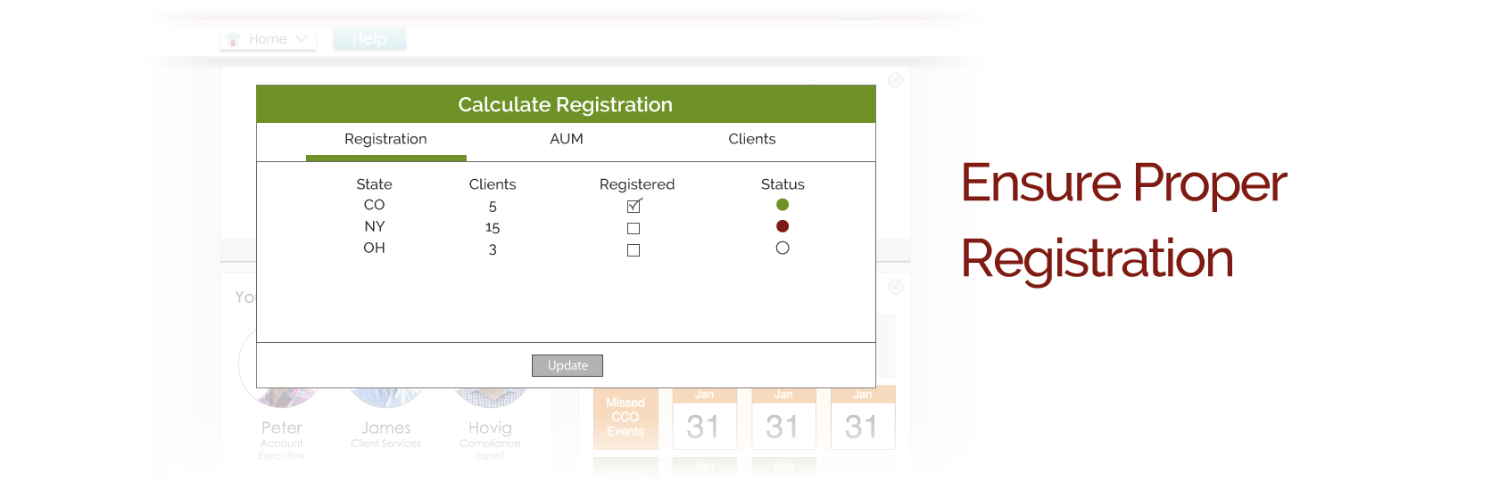 RIA state registration and notice filing services