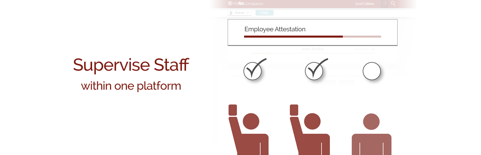 RIA employee and rep supervision software